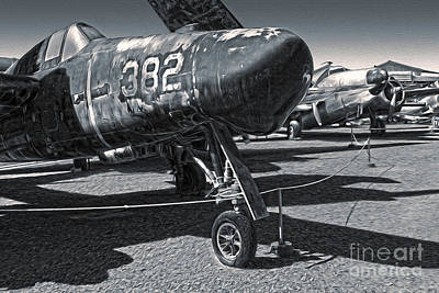 Painting - Grumman Tigercat F7f-3n  -  02 by Gregory Dyer