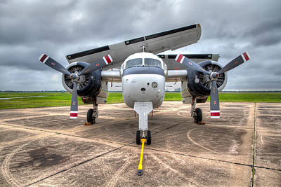 Aviation Photograph - Grumman Tracker by Tim Stanley