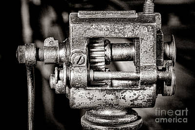 Photograph - Grunge Machine by Olivier Le Queinec