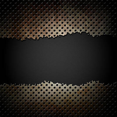 Grunge Metal Background Original by Kirsty Pargeter