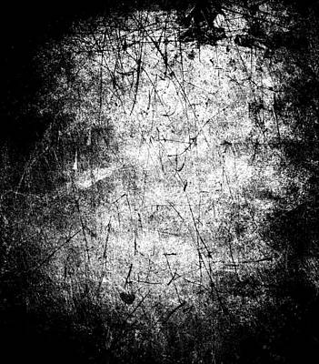 Grunge Scratched Background Original by Kirsty Pargeter