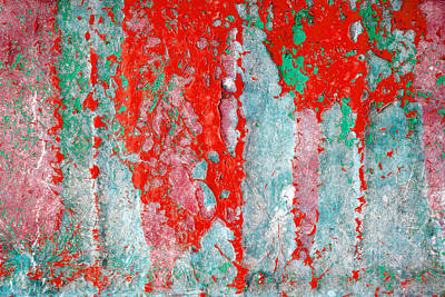 Winter Animals Royalty Free Images - Grunge weathered paint abstract Royalty-Free Image by Modern Abstract