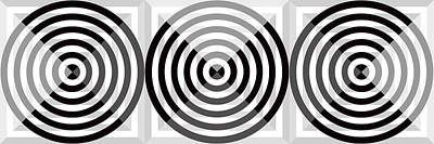 Abstract Royalty-Free and Rights-Managed Images - GS Circles Panoramic by Mike McGlothlen