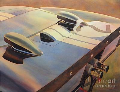 Painting - Gt40 by Robert Hooper