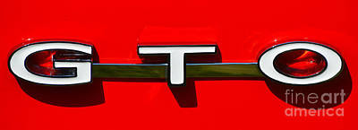 Gto Badge Art Print
