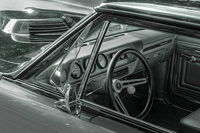 Photograph - Gto Monochrome by Howard Markel