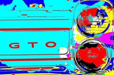 Show Mixed Media - Gto Pop Art by Dan Sproul
