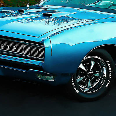 GTO Art Print by Robert Smith