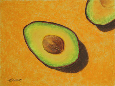 Guacamole Time Original by Marna Edwards Flavell