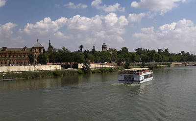 Photograph - Guadalquivir River Boat Cruise In Seville by Lorraine Devon Wilke