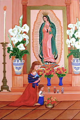 Guadalupe Art Print by Evangelina Portillo