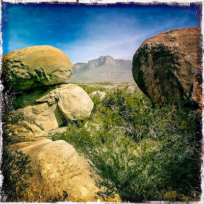 Photograph - Guadalupe Mountains by Randy Green