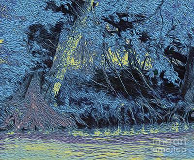 Guadalupe River Blue Original