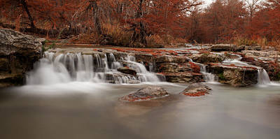 Guadalupe River Panorama Art Print by Paul Huchton