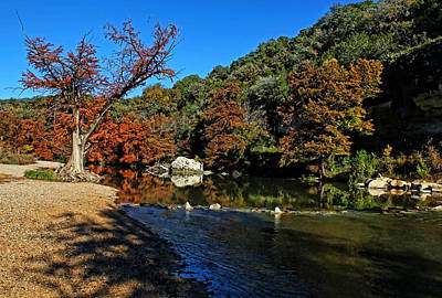 Photograph - Guadalupe River State Park 1 by Judy Vincent