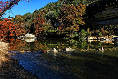 Photograph - Guadalupe River State Park 2 by Judy Vincent