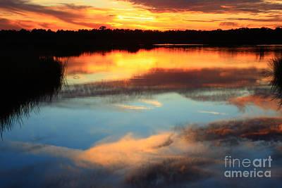 Lady Bug - Guana River Sunset by John F Tsumas