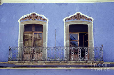 Photograph - Guanajuato Balcony Mexico by John  Mitchell