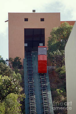 Photograph - Guanajuato Funicular Mexico by John  Mitchell