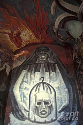 Photograph - Guanajuato Mural Mexico by John  Mitchell