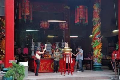 Photograph - Guandi Temple Kuala Lumpur by Steven Richman