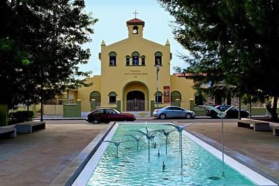 Photograph - Guanica Catholic Church by Ricardo J Ruiz de Porras