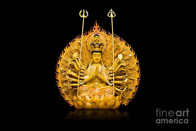 Guanyin Art Print by Tosporn Preede