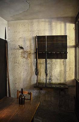 Guard Room In La Conciergerie De Paris Art Print