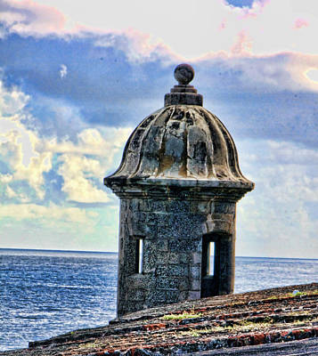 Guard Tower At El Morro Art Print