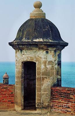 Guard Tower, El Morro, Puerto Rico Art Print