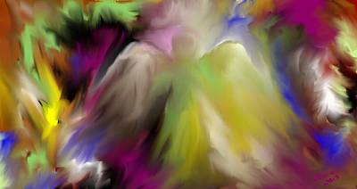 Digital Art - Guardian Angel by Jessica Wright