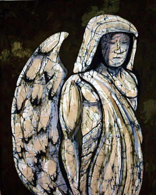 Tapestry - Textile - Guardian Angel by Kay Shaffer