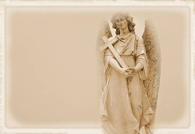 Photograph - Guardian Angel by Nadalyn Larsen