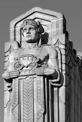 Berea Wall Art - Photograph - Guardian In Black And White by Clint Buhler