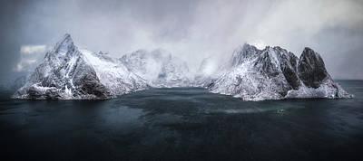Norway Wall Art - Photograph - Guardian Of Lofoten by Stan Huang