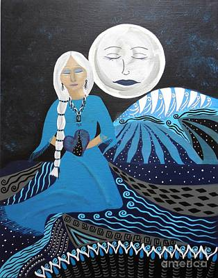 Painting - Guardian Of The Dream Time by Jean Fry