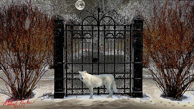 Guardian Of The Gate Original by Michael Rucker