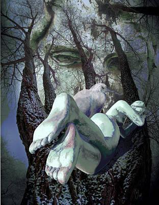 Digital Art - Guardians Of Dreams by Maria Jesus Hernandez