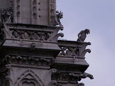 Photograph - Guardians Of Notre Dame by Keith Stokes