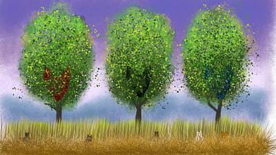 Chihuahua Digital Art - Guardians Of The Chihuahua Trees by Andris Kalns