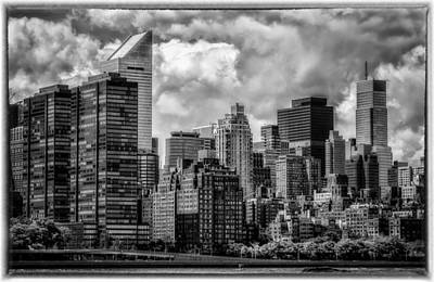 Art Print featuring the photograph Guardians Of The City In New York by Linda Karlin