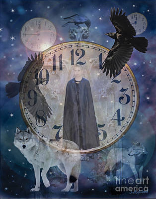 Judy Wood Digital Art - Guardians Of Time by Judy Wood