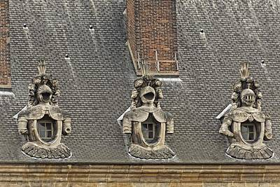 Photograph - Guardians On The Roof - 1  by Hany J