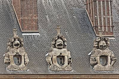 Photograph - Guardians On The Roof - 2  by Hany J