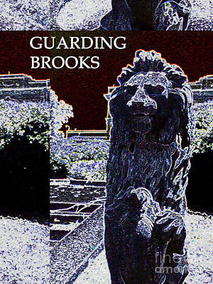 Artpro.com Digital Art - Guarding Brooks by Karen Francis