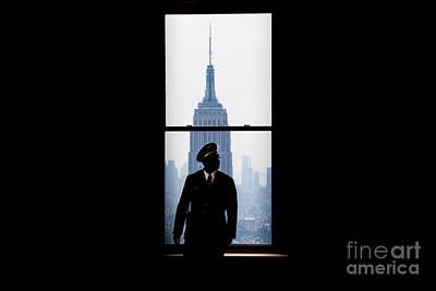 City Scenes Royalty-Free and Rights-Managed Images - Guarding The Empire by Az Jackson