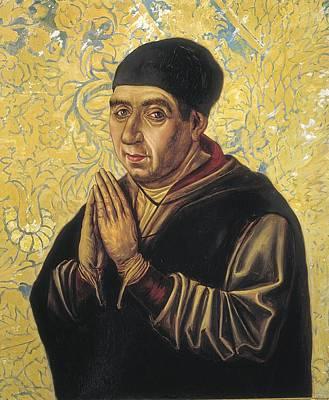 Statue Portrait Photograph - Guas, Juan 1430-1496. Spanish Architect by Everett