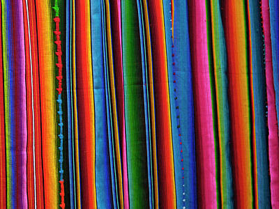 Guatemala, Colorful Fabric Print by Jaynes Gallery
