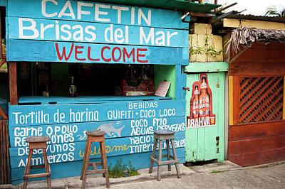 Cantina Photograph - Guatemala, Livingston by Michael Defreitas