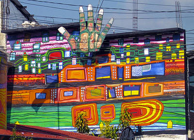 Photograph - Guatemala Street Art 1 by Kurt Van Wagner